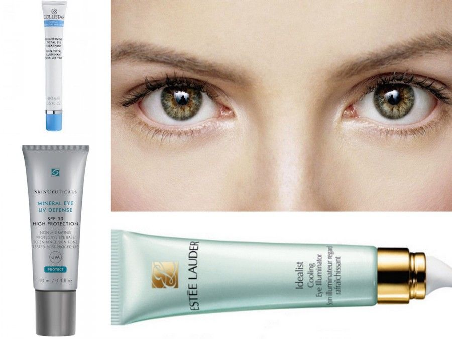 Trattamento Illuminante Totale Occhi di Collistar Collistar,Mineral Eye UV Defense SPF 50 di Skin Ceuticas, Idealist Cooling Eye Illuminator Estèe Lauder