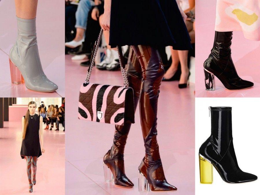 Stivali in Vinile di Christian Dior