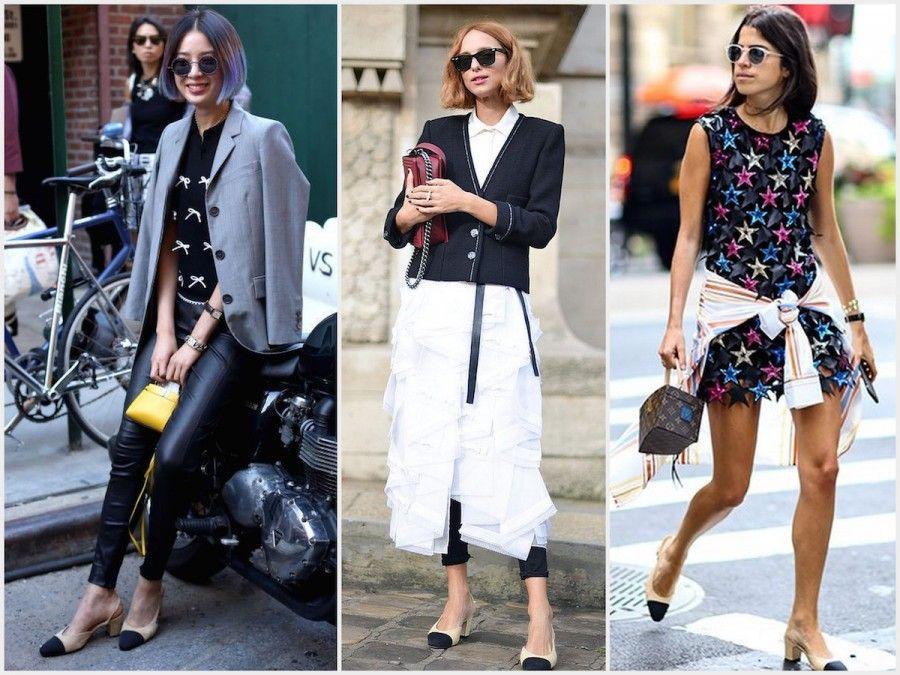 Alcune fashion icon con scarpe Chanel SlingBack