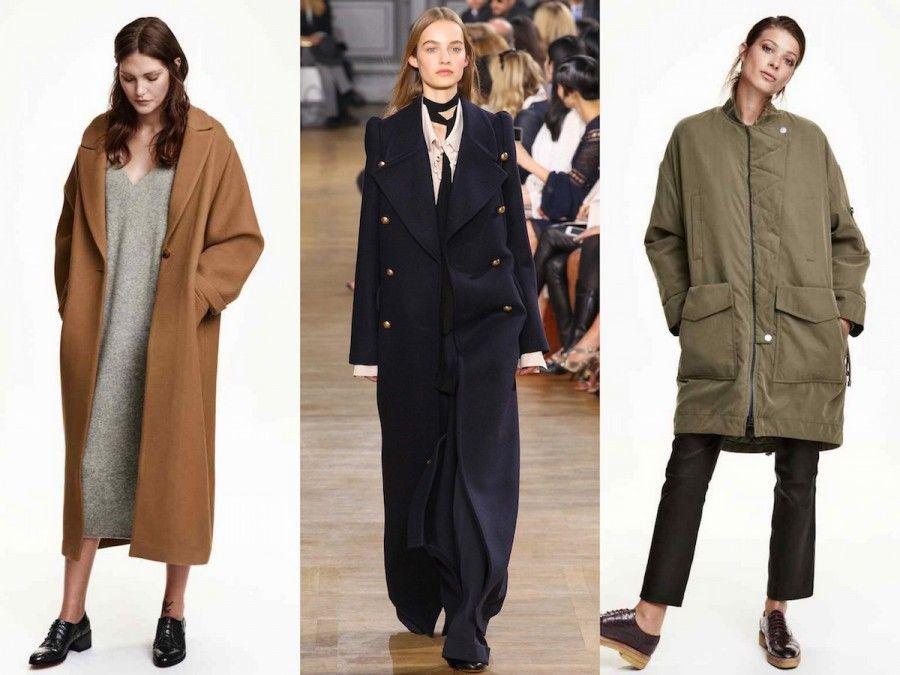 Cappotti e Parka over di H&M Trend e Chloè