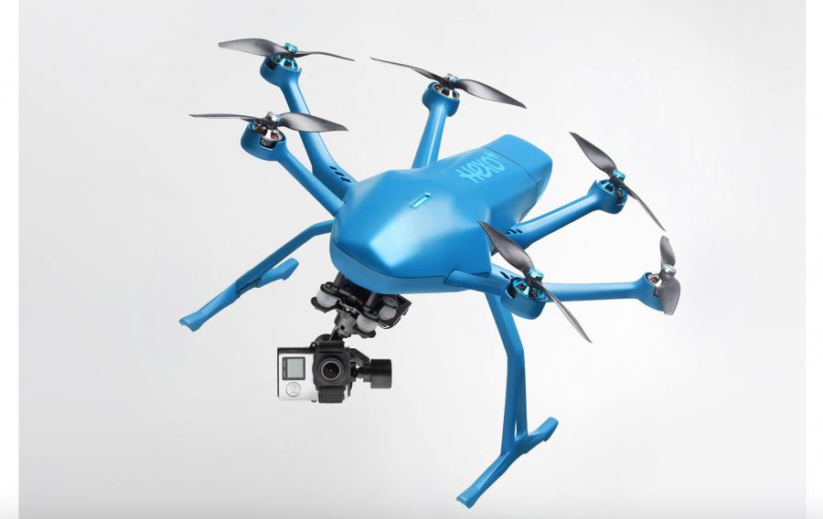 Il drone che ti segue