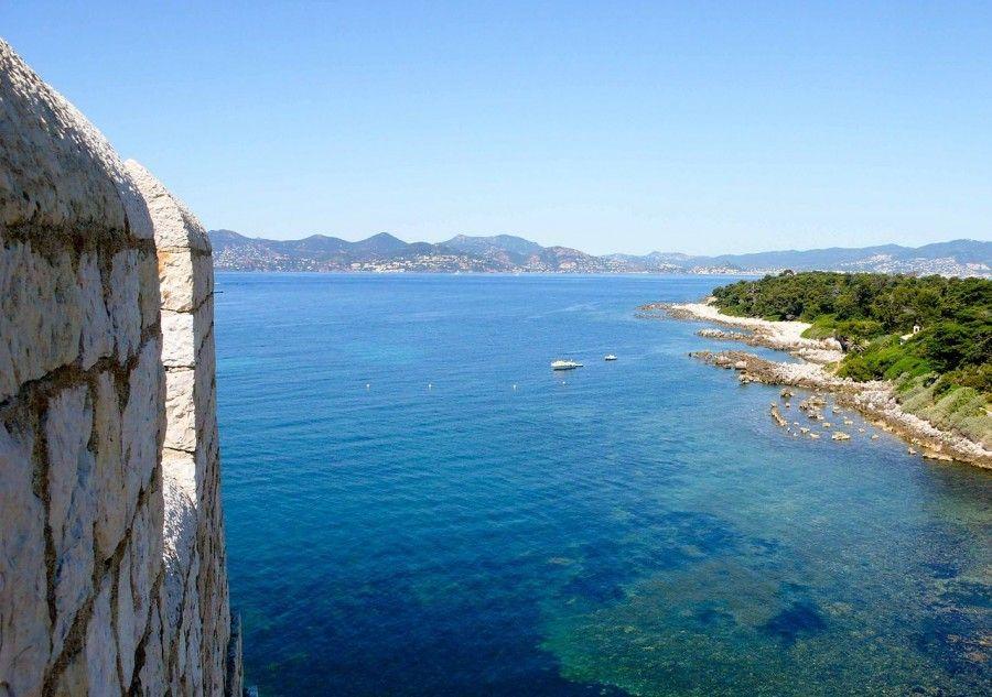 Il mare delle Isole Lerins