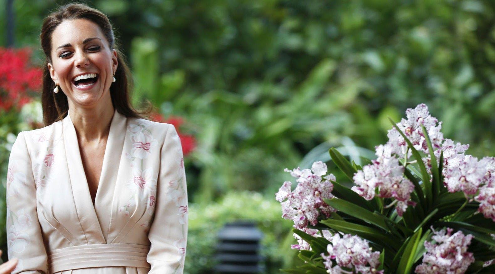 Il segreto di Kate Middleton per portare i tacchi a spillo