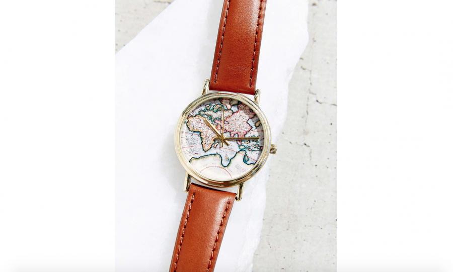 L'orologio con la mappa
