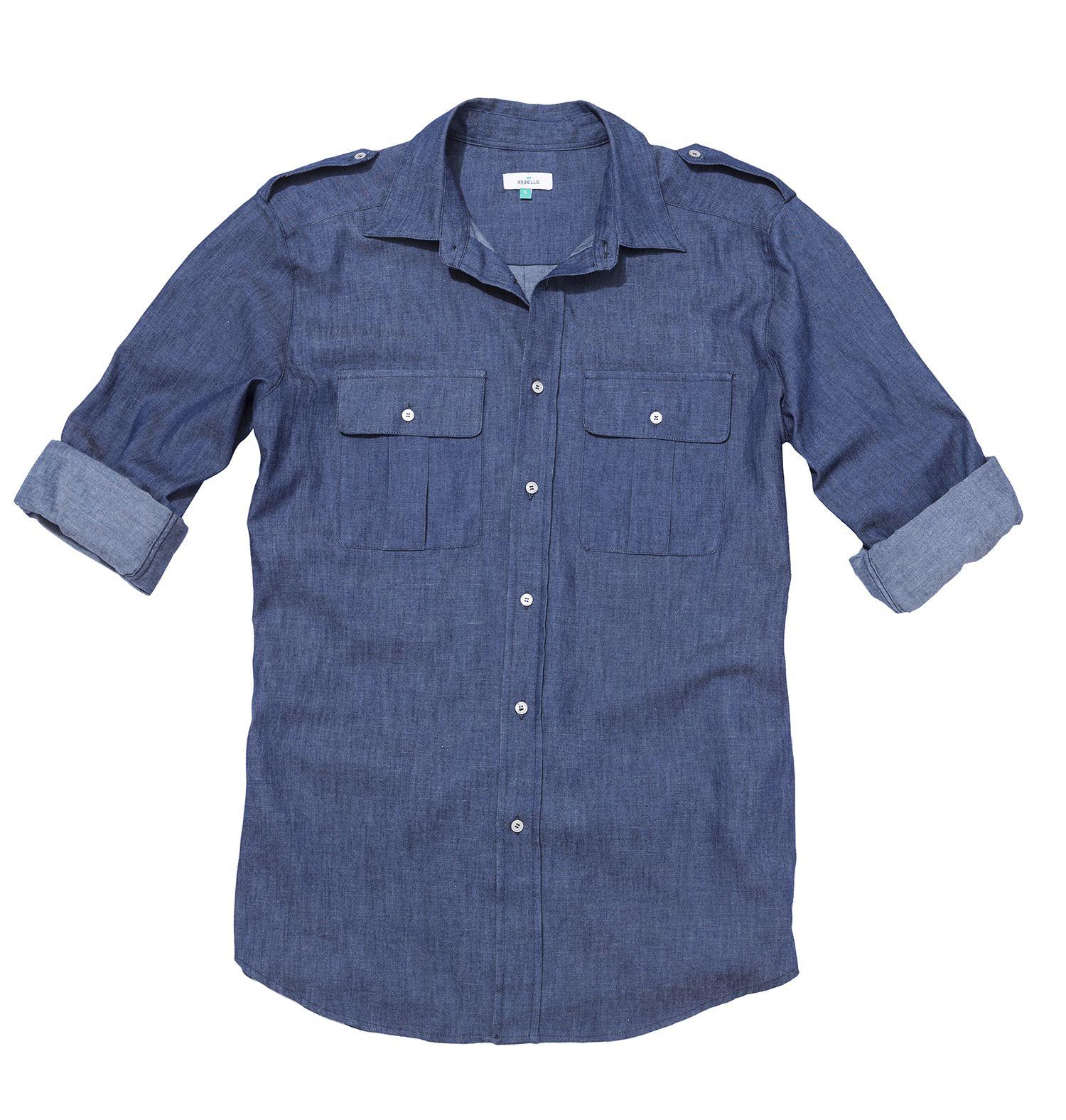 camicia uomo in ortica