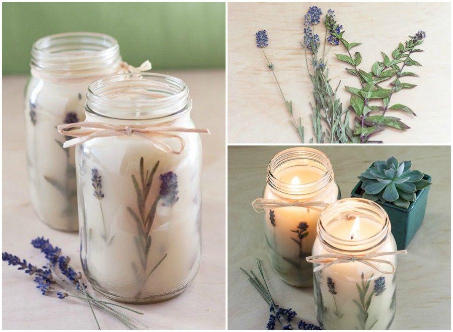 candle lavanda