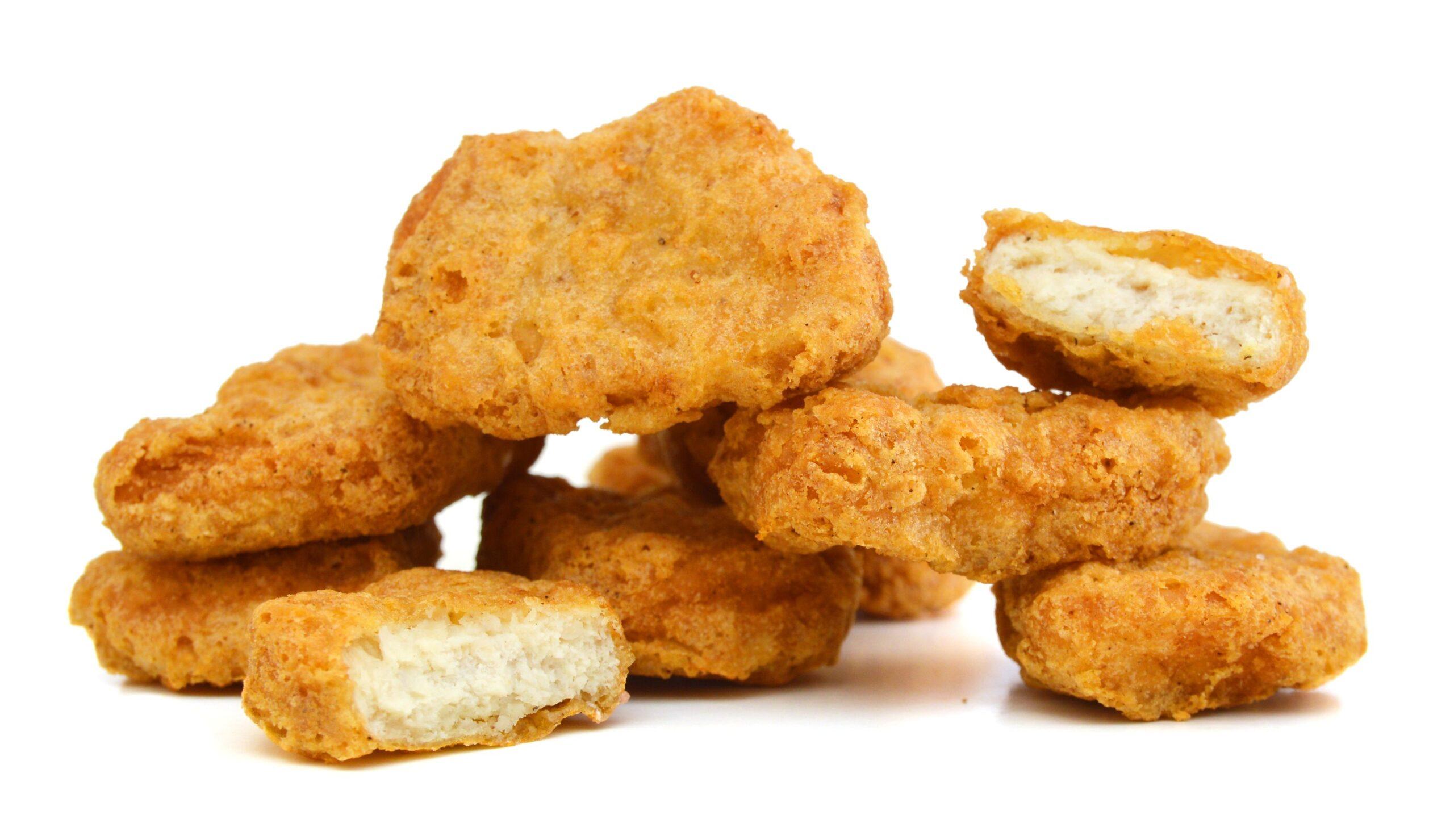 Quanti ingredienti ci sono nei Chicken Nuggets di McDonald's?