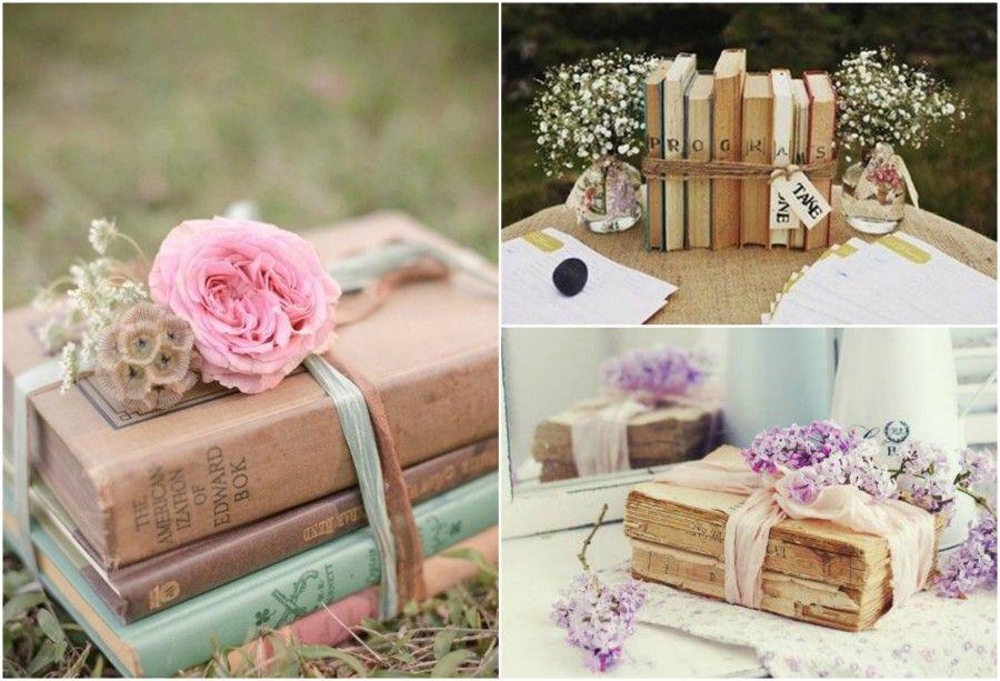 Libri decorazioni floreali