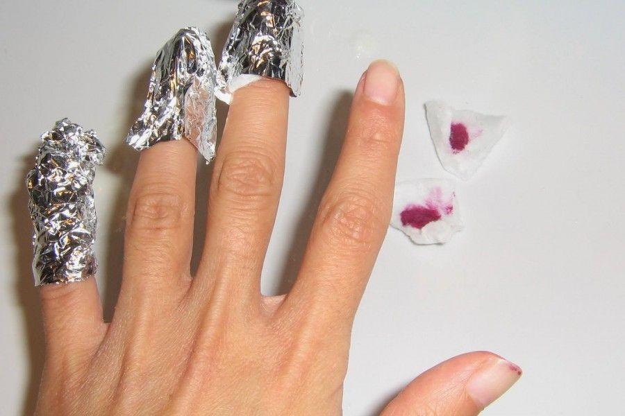 Come eliminare lo smalto gel