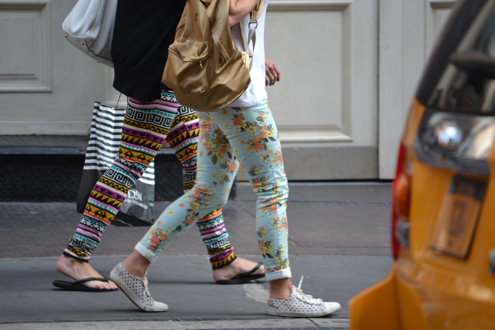 l'errore di usare leggings come pantaloni