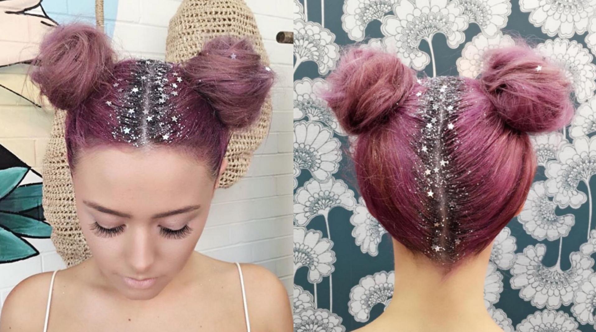 Glitter roots la nuova tendenza per capelli