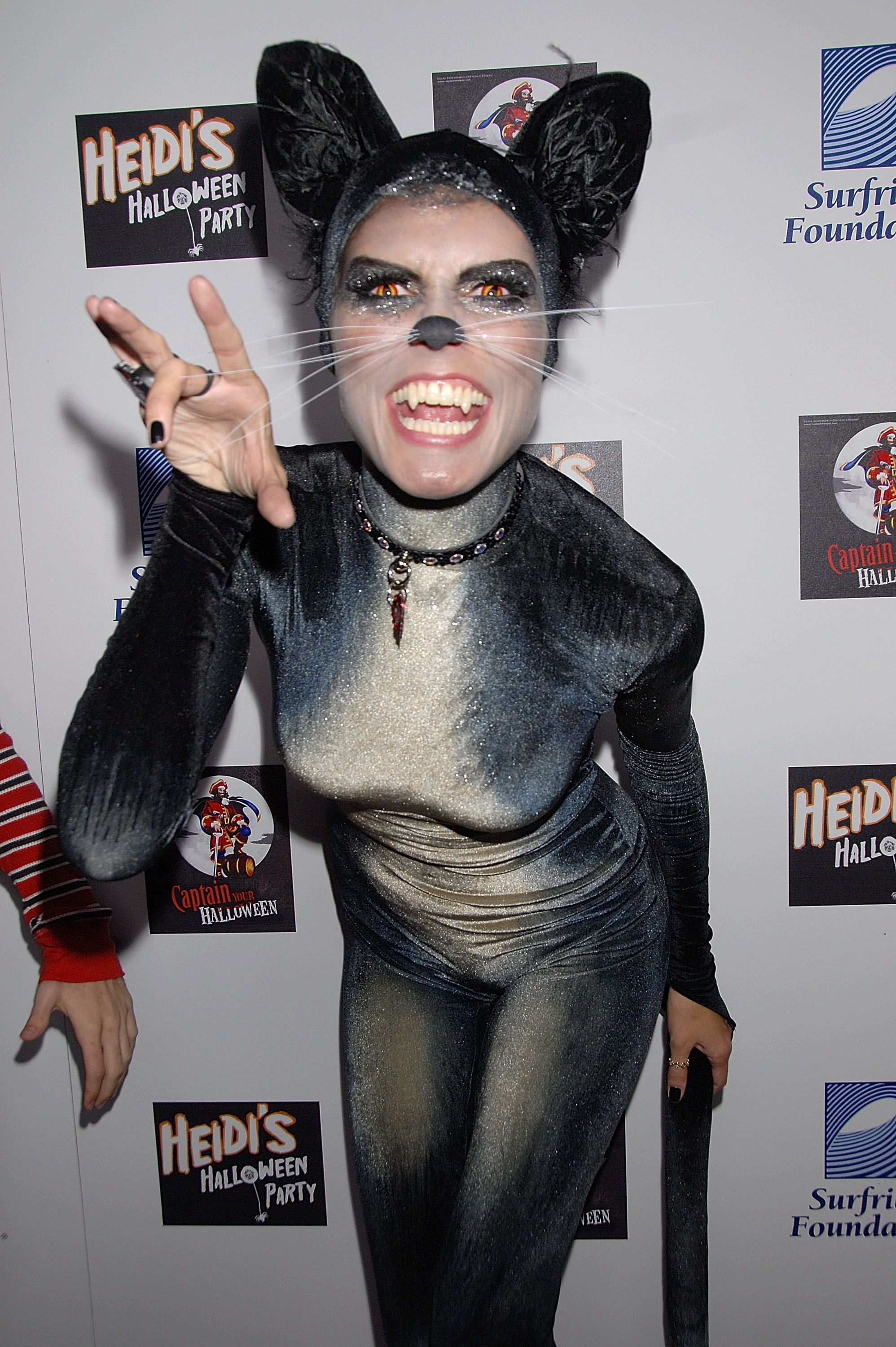 LOS ANGELES, CA - OCTOBER 31: Model Heidi Klum attends her 8th Annual Halloween Party at The Green Door on October 31, 2007 in Los Angeles, California. (Photo by Charley Gallay/Getty Images) ORG XMIT: 77459456 GTY ID: 59456CG001_HEIDI_KLUM_S_