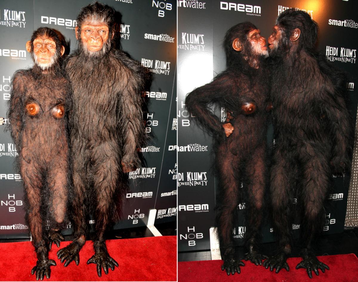 heidi-klum-halloween-scimmia