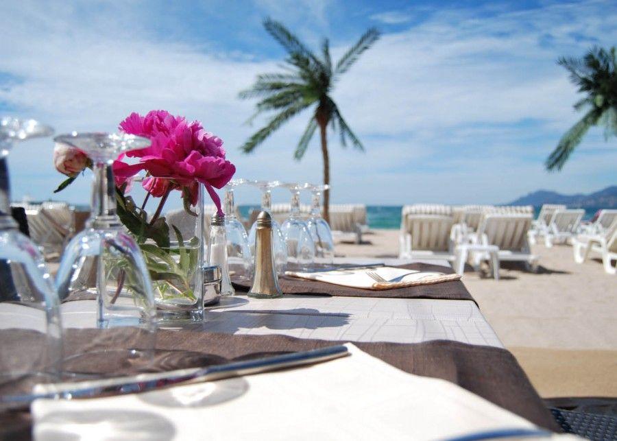 La Mandala sulla spiaggia di Cannes