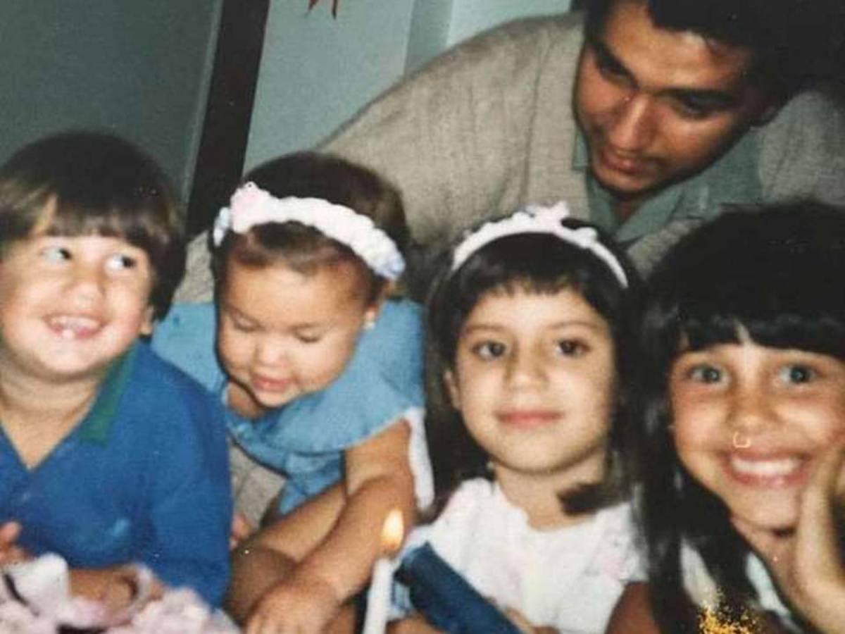 la famiglia di Belén Rodríguez