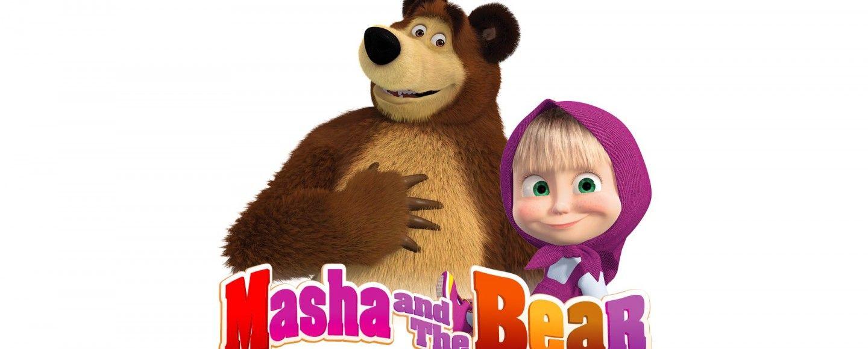 Masha e orso finalmente al cinema bigodino