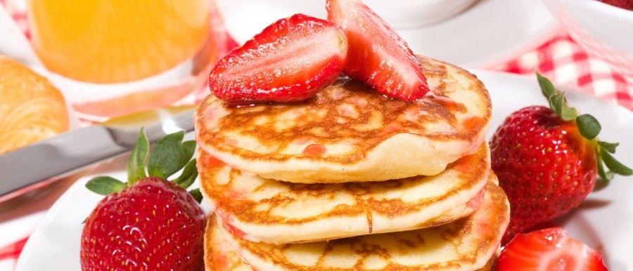 ...fanno presto gli americani... ma chi ha voglia di preparare pancakes al mattino?