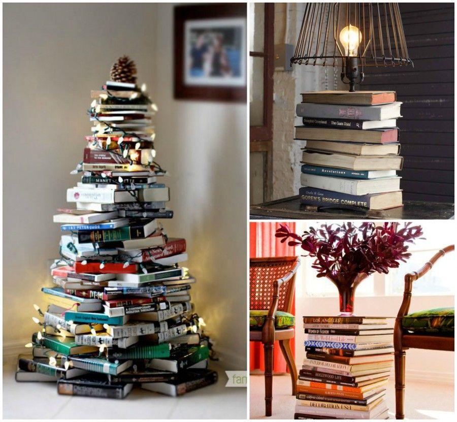 Pila di libri, diverse composizioni