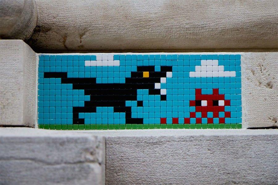 Invader di pixel