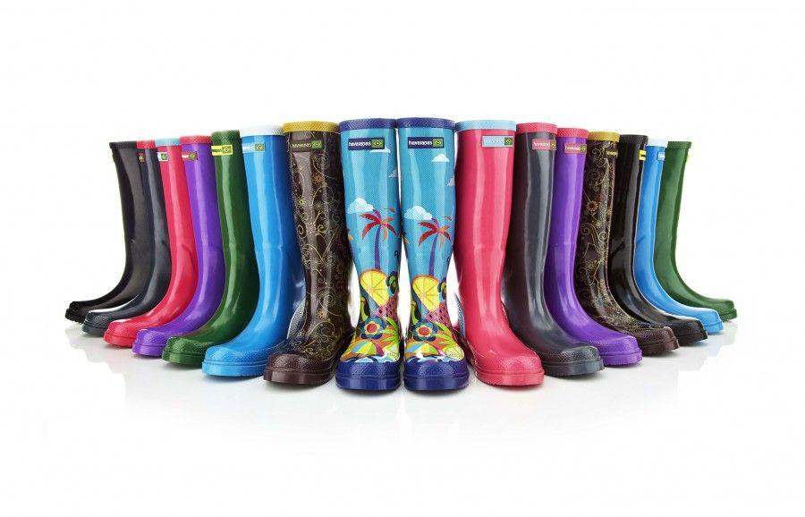 Stivali da pioggia di gomma