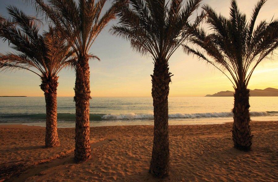 La spiaggia a Cannes La Bocca