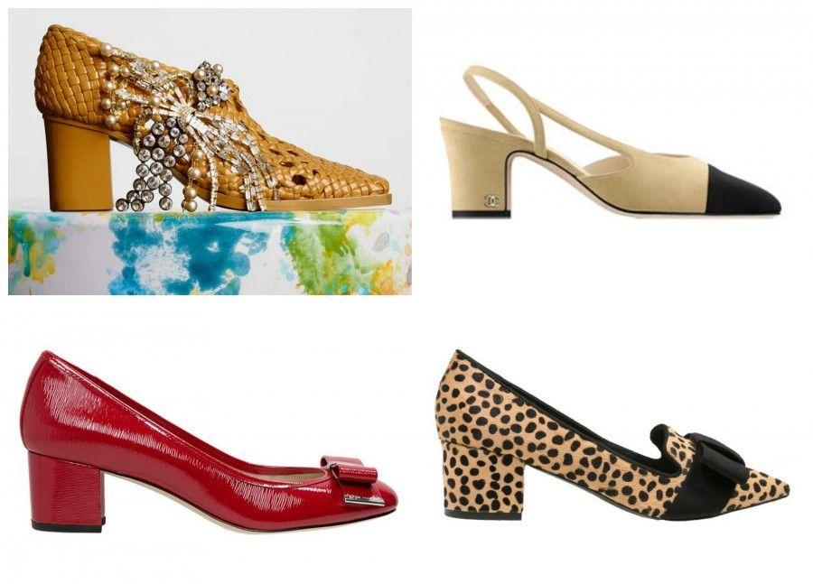 scarpe basse Collage