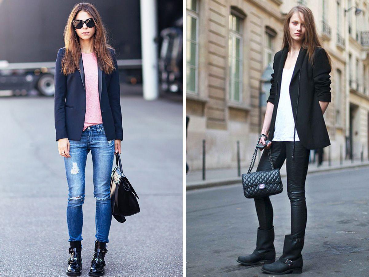 Come indossare il blazer nero senza essere scontate