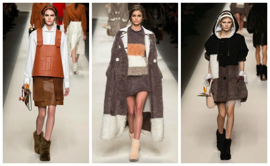 shearling Collage
