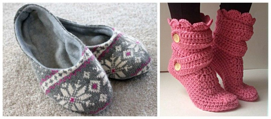 slippers Collage