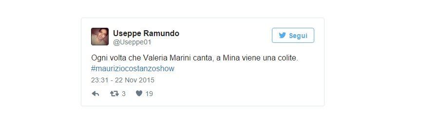 """""""Ogni volta che Valeria Marini canta, a Mina viene una colite"""""""