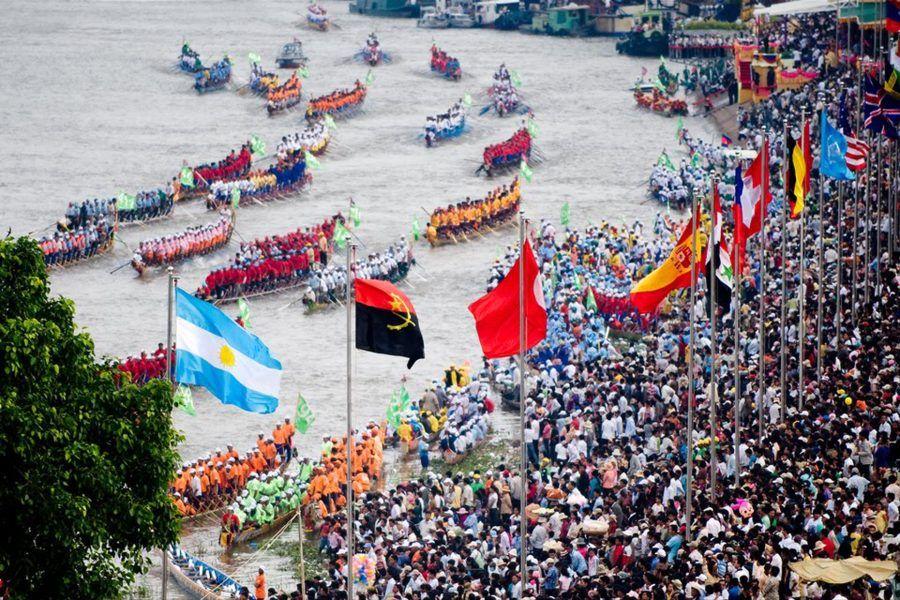 Il water festival in Cambogia