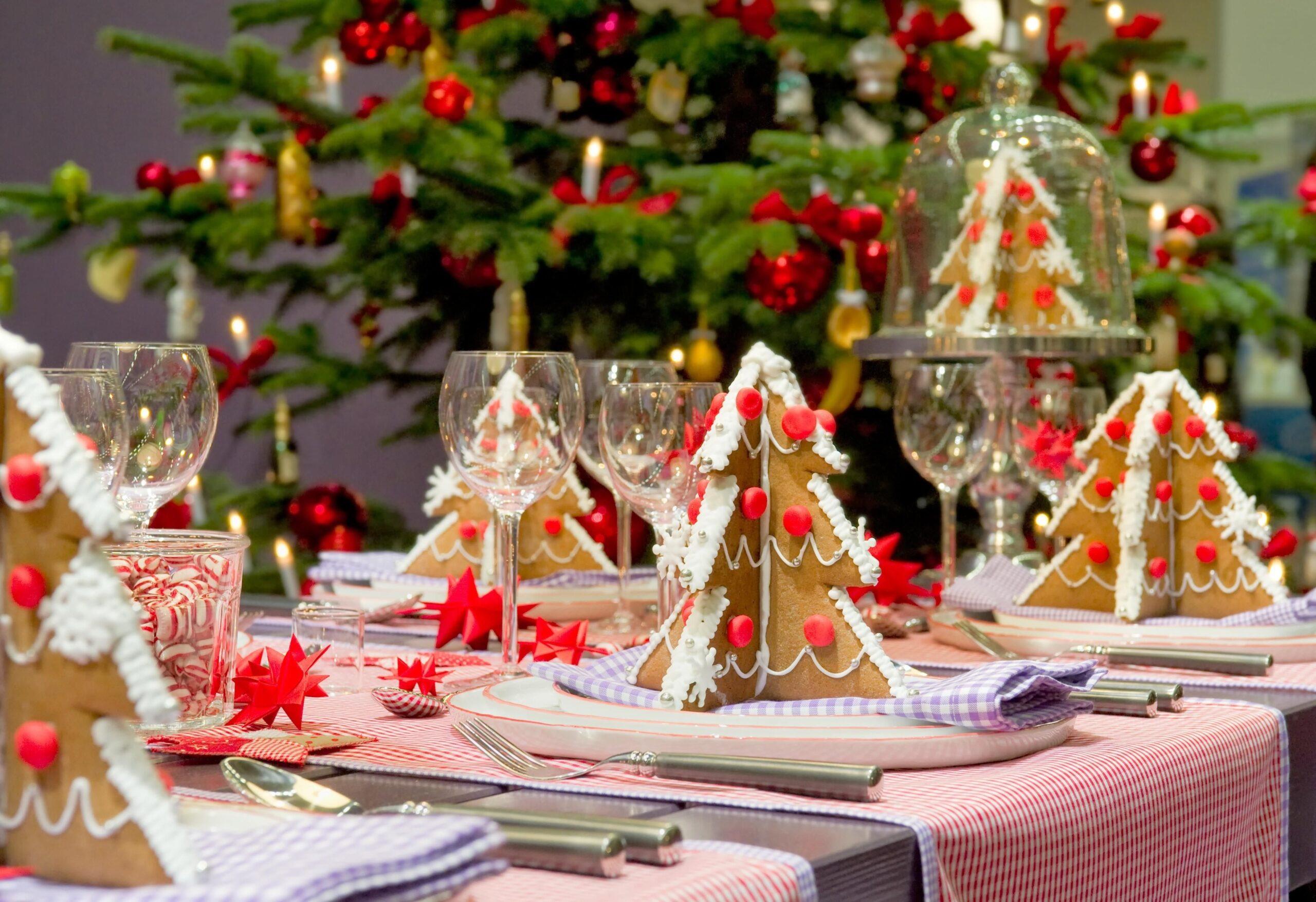 Tante idee per la tavola di Natale