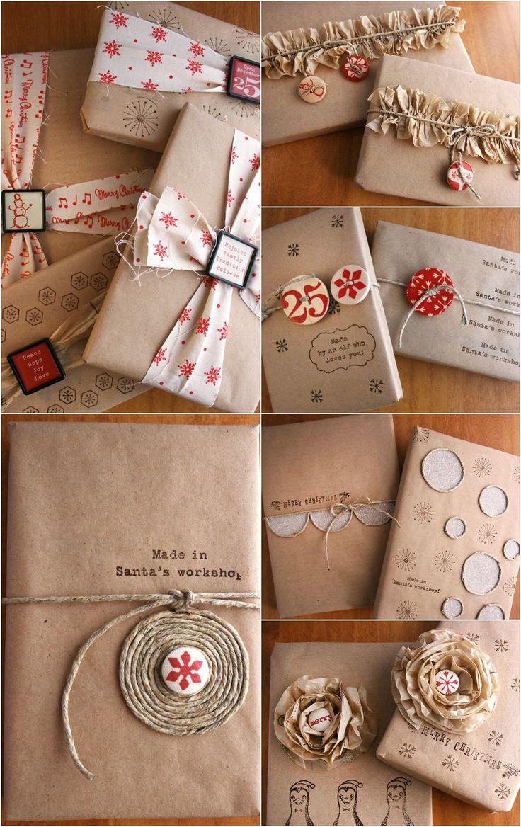 Come Fare Pacchetti Natalizi scopri come incartare i regali con la carta riciclata | bigodino