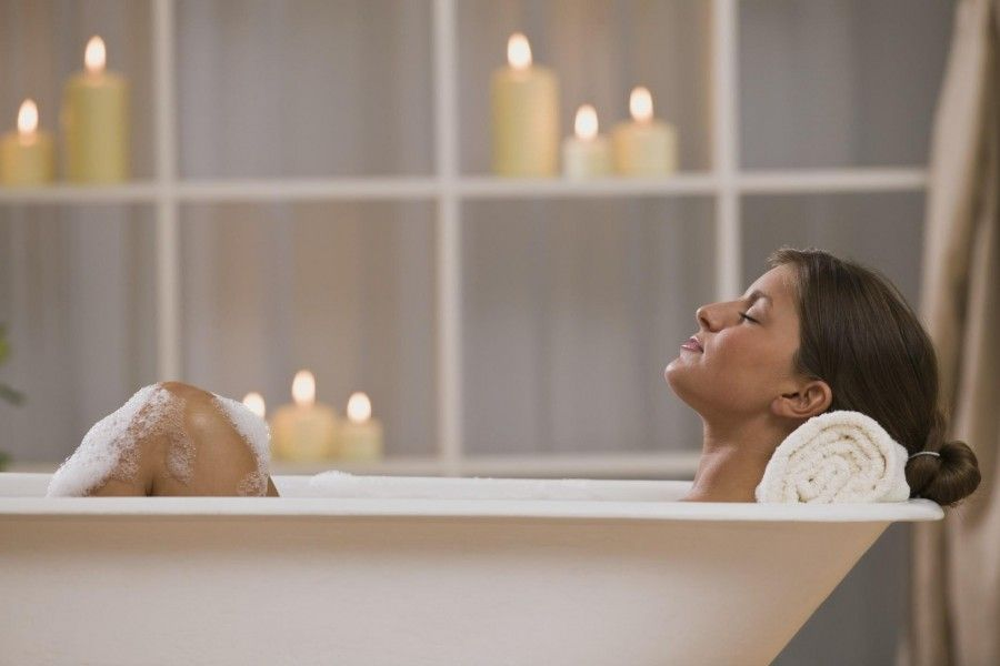 La temperatura ideale per un bagno rilassante è di 37 gradi