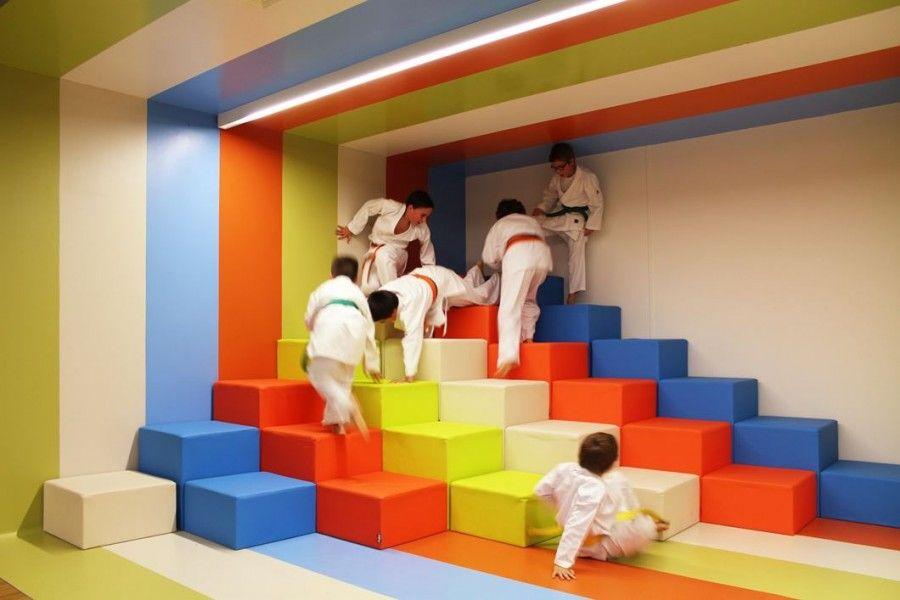 Kalorias Health Club Children's Space. Linda-a-Velha. Portogallo