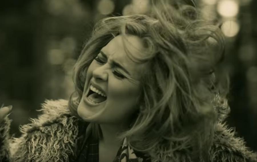 Adele in Hello