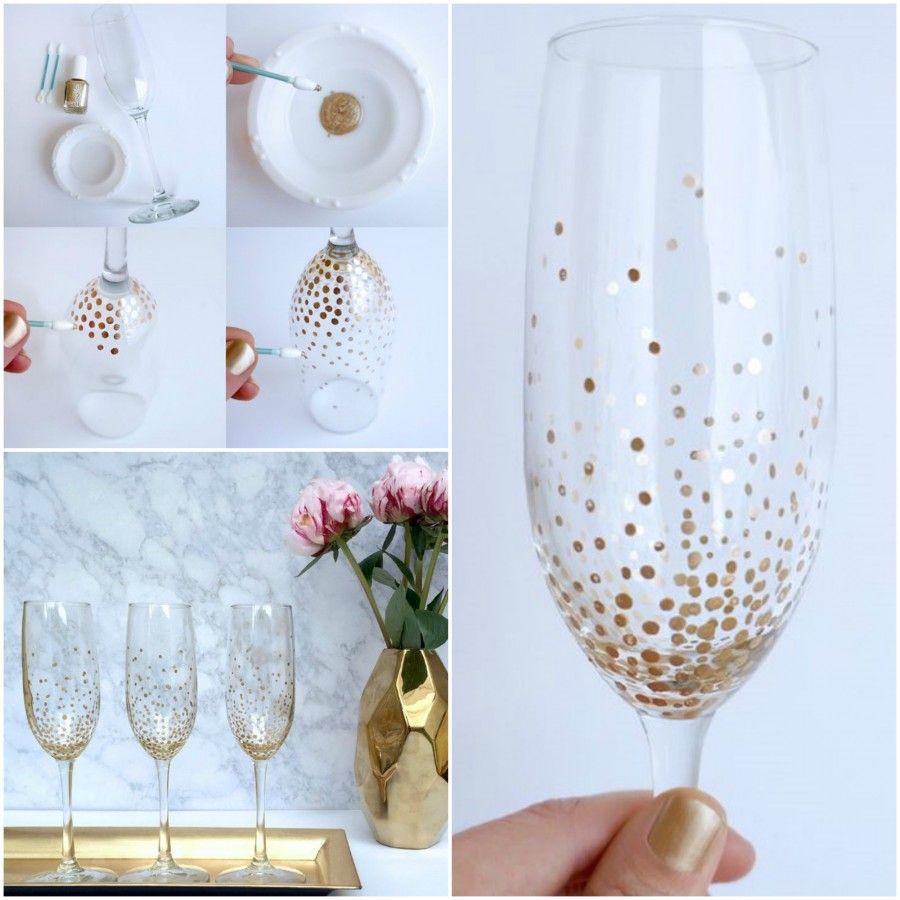 Bicchieri dorati 2