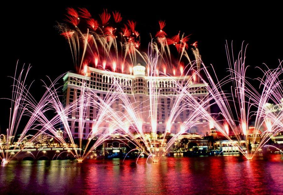 Capodanno al Bellagio di Las Vegas
