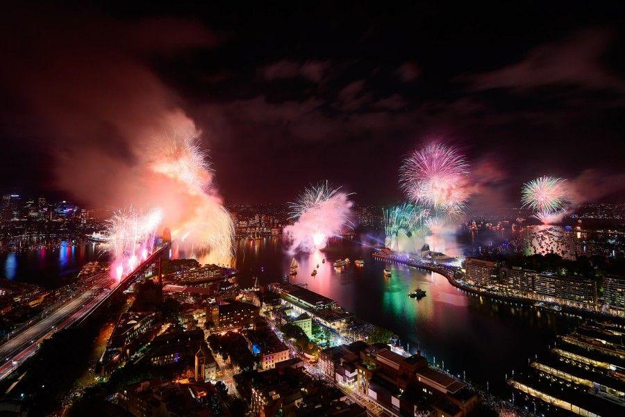 Capodanno a Sydney Australia