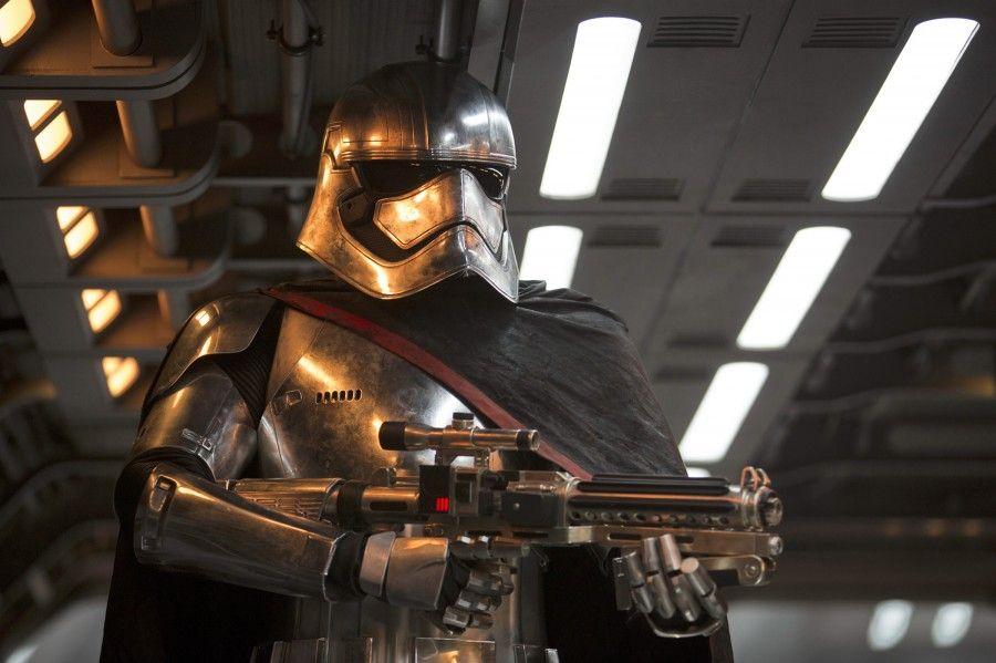 Gwendoline Christie (as Captain Phasma) in Star Wars: Episode VII - The Force Awakens (2015)