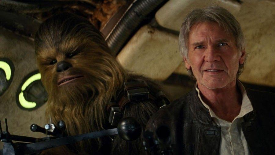 Chewy e Han Solo