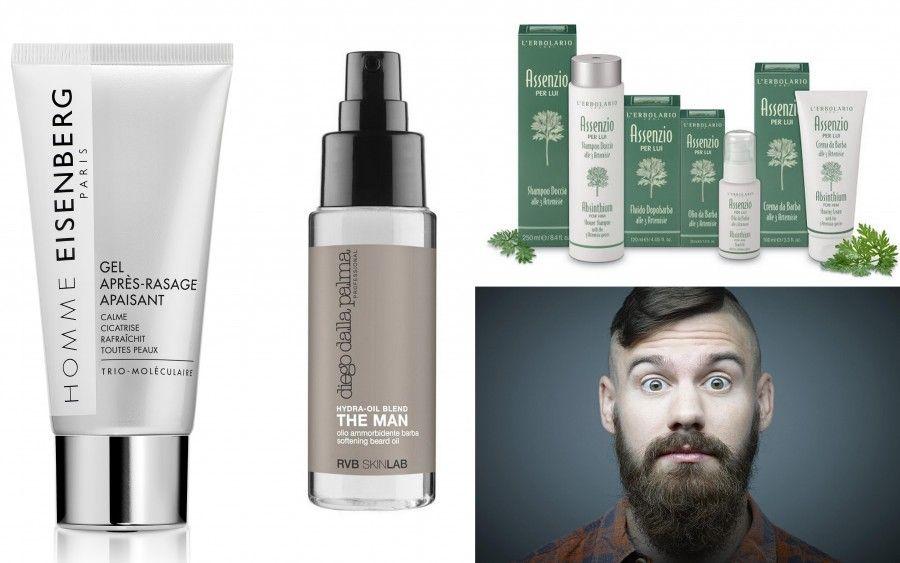 Prodotti per styling della barba di Eisenberg, Diego dalla Palma e L'Erbolario