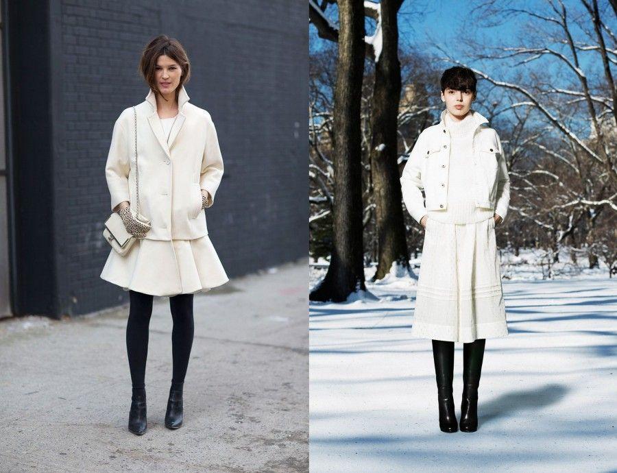 Outfit Black & White per variare, ma attenzione agli effetti ottici!