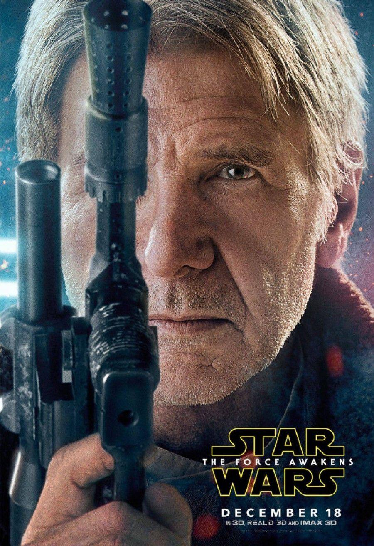 Harrison Ford in Star Wars-il Risveglio della Forza