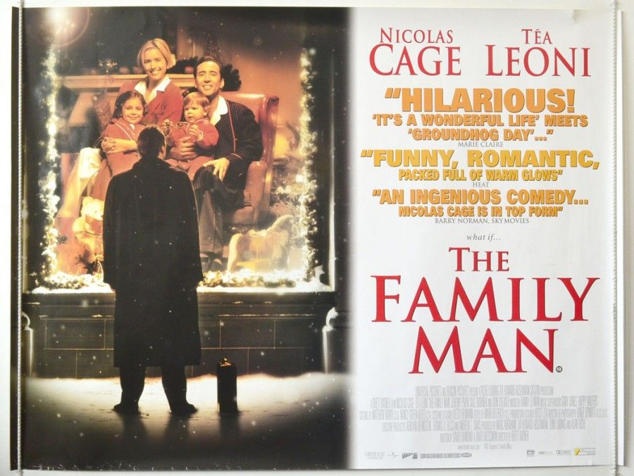 Family Man : Cinema Quad Poster
