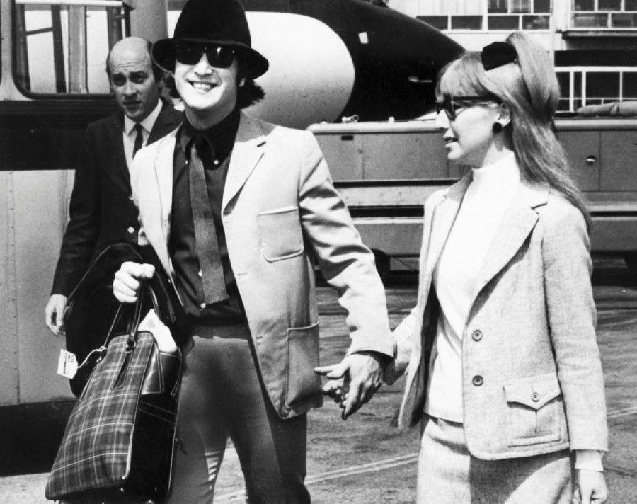 John e Cynthia Lennon nel 1965