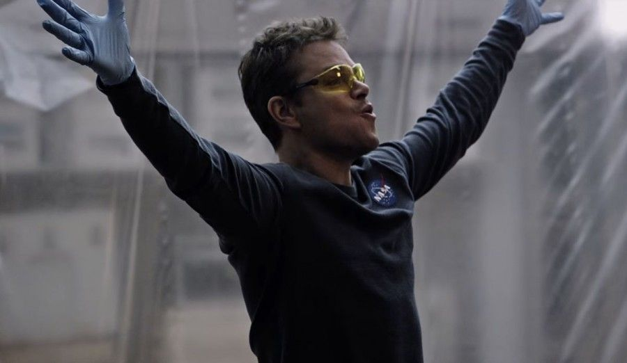 Matt Damon in Sopravvissuto The Martian
