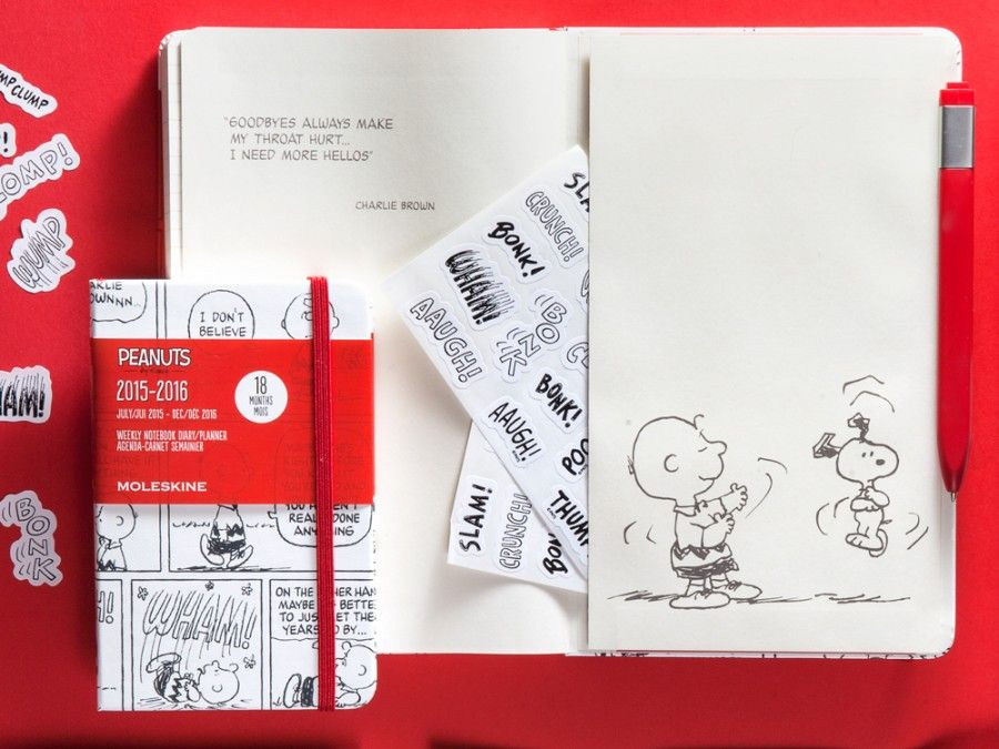 Peanuts_planners