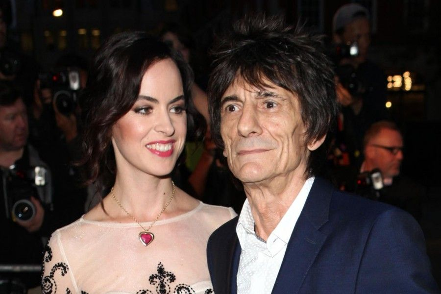 Ron Wood e Sally