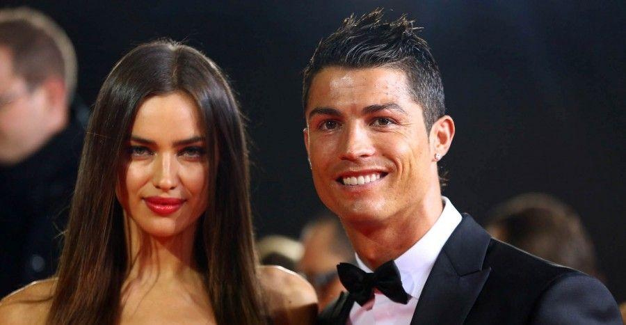 Ronaldo e Irina